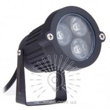 Светильник LED садовый Lemanso 3LED 3W 6500K чёрный / LM978