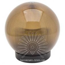 Шар диаметр 150 чайный призматический Lemanso PL2111 макс. 25W  + база с E27