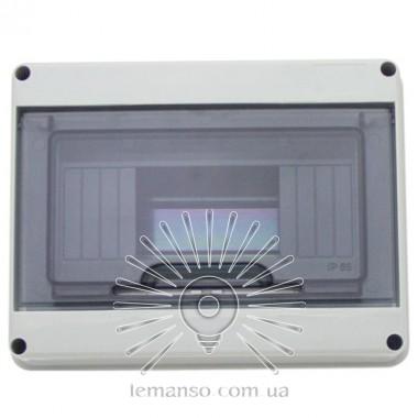 Коробка IP65, под 8 автоматов LEMANSO внутренняя, пластик / LMA7402 описание, отзывы, характеристики