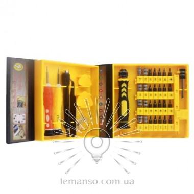 Набор головок и бит с рукояткой 38шт. LEMANSO LTL10044 описание, отзывы, характеристики