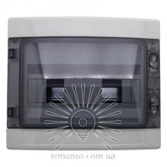 Коробка IP65, под 12 автоматов LEMANSO накладная, пластик / LMA7409
