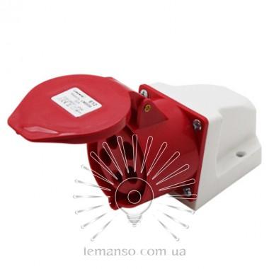 Гнездо стационарное LM2038 (ГП) Lemanso 32А/5п (3п+е+н) 220-380V IP44 / упак=1шт описание, отзывы, характеристики