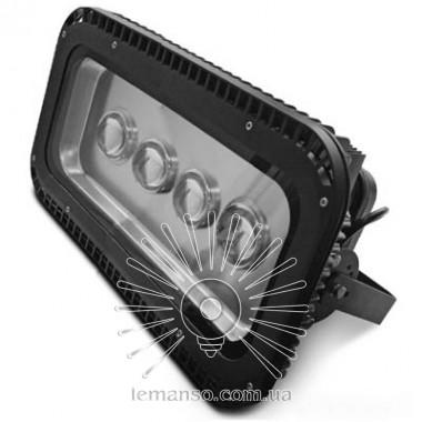 Прожектор LED 200w 6500K IP65 4LED 13000LM LEMANSO чёрный с линзами / описание, отзывы, характеристики