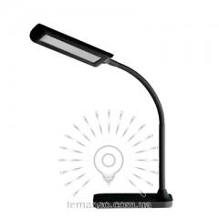 Настольная лампа Lemanso 6W 300LM 6000K чёрная / LMN087