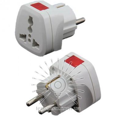 Переходник - адаптер Lemanso с индикатором белый / LMA036 описание, отзывы, характеристики