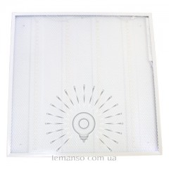 LED панель Lemanso 72W 6800LM 6500K 180-265V квадрат / LM1092 наруж+врезн