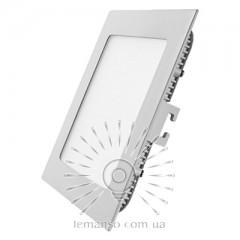 LED панель Lemanso 18W 1080LM 85-265V 4500K квадрат / LM1029 Комфорт
