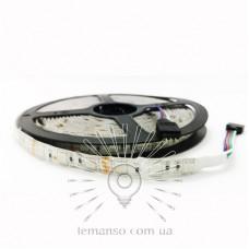 Светодиодная лента LEMANSO IP65 60SMD 5050 12V RGB 14,4W/м/ LM566