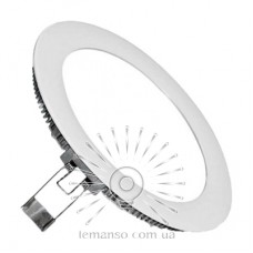 LED панель Lemanso 12W 720LM 85-265V 4500K круг / LM1026 Комфорт
