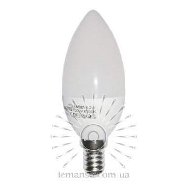 Лампа Lemanso LED C37 E14 4,2W 380LM 4500K мат. / LM321 описание, отзывы, характеристики