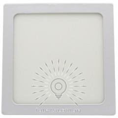 Накладная квадрат LED панель Lemanso 12W 900LM 6400K 85-265V / LM1049