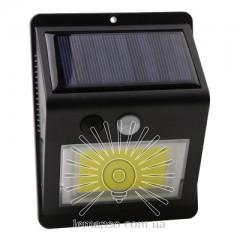Подсветка для стены COB Lemanso 5W 165LM IP65 6500K с д/движения и солн. батареей / LM33003 с аккум