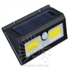 Подсветка для стены COB Lemanso 5W 180LM IP65 6500K с д/движения и солн. батареей / LM33005 с аккум