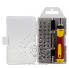Набор сменных головок и бит с держателем и удлинителем 33шт. LEMANSO LTL10033