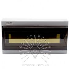 Коробка под 16 автоматов LEMANSO накладная, ABS / LMA112