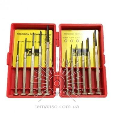Набор прецизионных отверток 11шт. LEMANSO LTL10089 описание, отзывы, характеристики