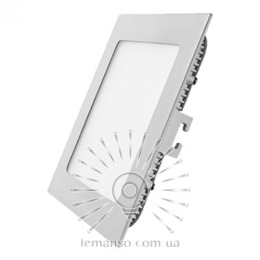 LED панель Lemanso 12W 840LM 165-265V 4500K квадрат / LM595 описание, отзывы, характеристики