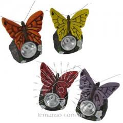Светильник LED газон Lemanso с выкл., 1LED белый IP44 6мес./ CAB124 бабочка