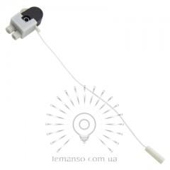 Выключатель Lemanso со шнурком черный LMA3317 (продается кратно 20 шт)