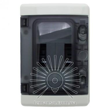 Коробка IP65, под 5 автоматов LEMANSO накладная, пластик / LMA7407 описание, отзывы, характеристики