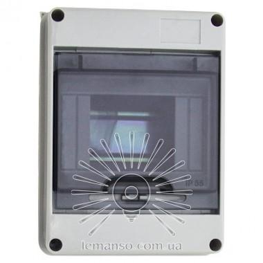 Коробка IP65, под 5 автоматов LEMANSO внутренняя, пластик / LMA7401 описание, отзывы, характеристики