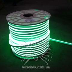 Неон LEMANSO 120град. 120LED 6W/м IP65 зелёный 2835SMD 220V 2160LM / LM856