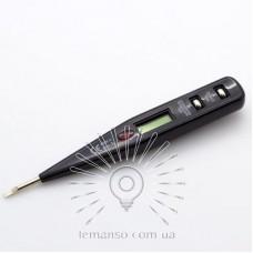 Отвертка - индикатор напряжения Lemanso c лампой / LMA086