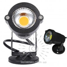 Светильник LED садовый Lemanso COB 7W 630LM 85-265V 6500K IP65 / LM19