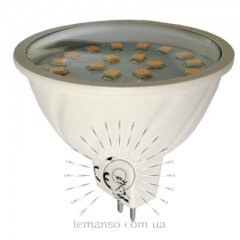 Лампа Lemanso LED MR16 3,6W 24LED G5.3 350LM 6500К 230V/LM318