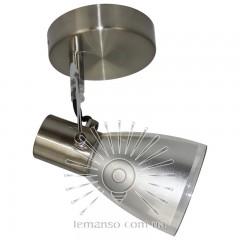 Спот Lemanso ST184-1 одинарный E14 / 9W матовый хром