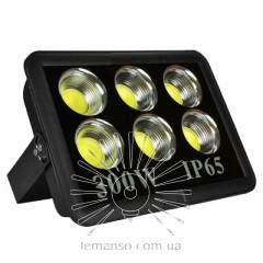 Прожектор LED 300w 6500K 6LED IP65 27000LM LEMANSO чёрный/ LMP14-300