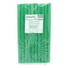 Стержни клеевые 10шт пачка (цена за пачку) Lemanso 11x200мм зелёные LTL14022