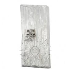 Rods glue 15pcs Lemanso 8x200mm transparent LTL14006