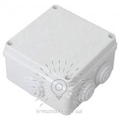 Расп. коробки LEMANSO 100*100*60 квадрат / LMA204 с резиновыми заглушками