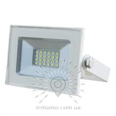 Прожектор LED 10w 6500K IP65 680LM LEMANSO белый / LMP33-10(без упаковки)