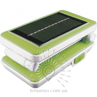 Базука Lemanso 5W 192LM 230V салатовая + солнечная батарея / LMB21 описание, отзывы, характеристики