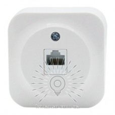 Computer socket 1 LEMANSO white Note LMR2313