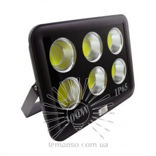 Floodlight LED 300w 6500K 6COB IP65 14700LM LEMANSO black/ LMP36-300