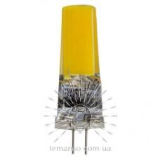 Лампа Lemanso св-ая G4 COB 3W AC/DC 12V 300LM 4500K силикон / LM3031