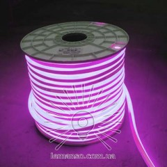 Неон LEMANSO 120град. 120LED 6W/м IP65 розовый 2835SMD 220V 2160LM / LM856
