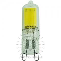 Лампа Lemanso св-ая G9 COB 2W 230LM 230V 6500K прозр./ LM3024