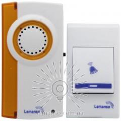Звонок Lemanso 12V LDB42 белый с оранжевым