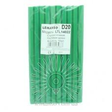 Cores glue 10pcs pack (price per pack) Lemanso 11x200mm green LTL14022