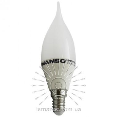 Лампа Lemanso св-ая 8W C37T E14 800LM 4000K 175-265V / LM3018 хвост описание, отзывы, характеристики