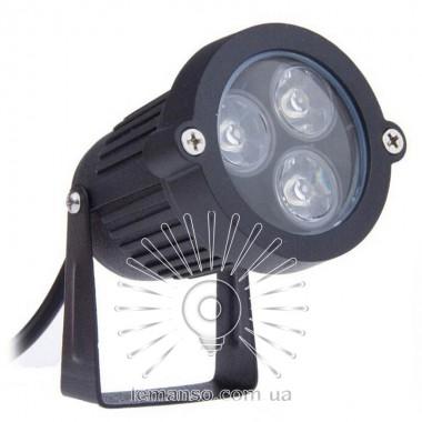 Светильник LED садовый Lemanso 3LED 3W 6500K чёрный / LM978 описание, отзывы, характеристики