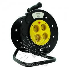 Катушка под 20-30м кабеля с розетками 4 шт Lemanso / LMK072