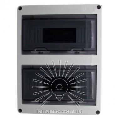 Коробка IP65, под 24 автоматы LEMANSO внутренняя, пластик / LMA7406 описание, отзывы, характеристики