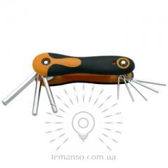 Набор раскладных шестигранних ключей 7шт. LEMANSO LTL10006