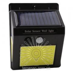 Подсветка для стены COB Lemanso 5W 170LM IP65 6500K с д/движения и солн. батареей / LM33002 с аккум