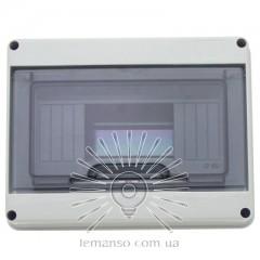 Коробка IP65, под 8 автоматов LEMANSO внутренняя, пластик / LMA7402